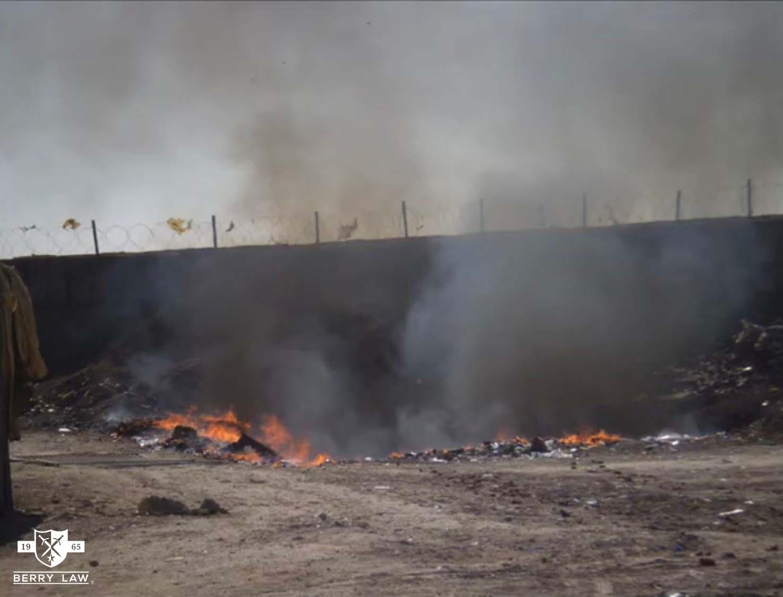 Iraq Burn Pits